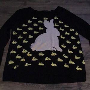 Kenzie bunny sweater size medium